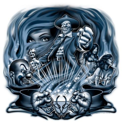 Pachuco Smoke by RollinLow - Men's Premium T-Shirt