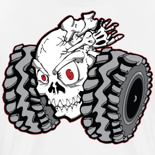 Off-Road Skull Roller - Men's Premium T-Shirt