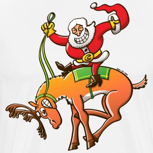 Christmas Rodeo - Men's Premium T-Shirt