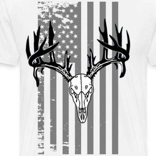 skull flag - Men's Premium T-Shirt