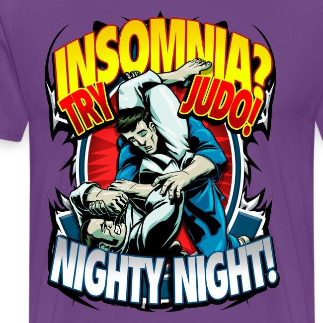 Judo Shirt - Insomnia Judo Design
