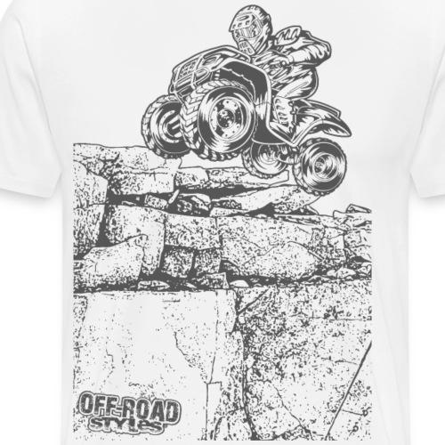 Quad Styled Rock Crawler - Men's Premium T-Shirt