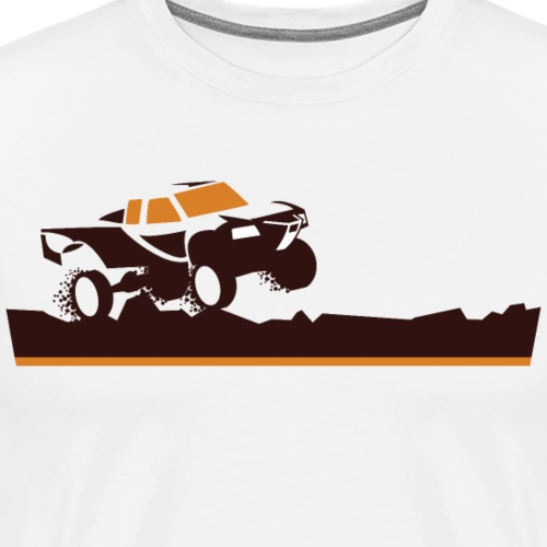 Race Truck Mud Run - Men's Premium T-Shirt