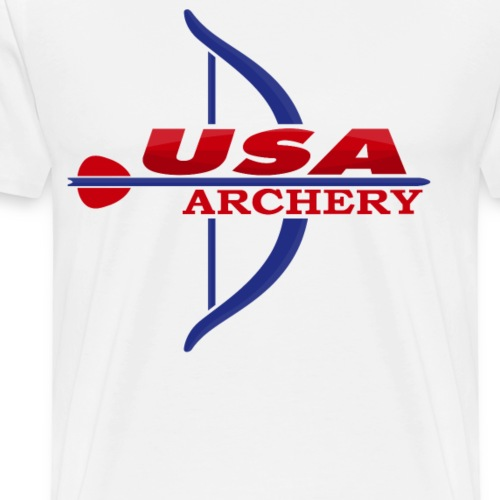 Usa Archery - Men's Premium T-Shirt