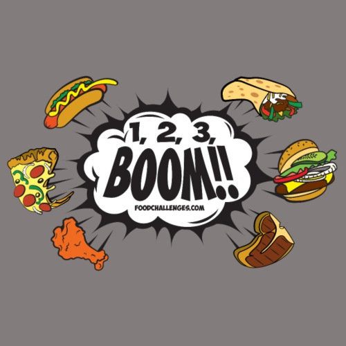 123_BOOM_FINAL Spreadshir - Men's Premium T-Shirt