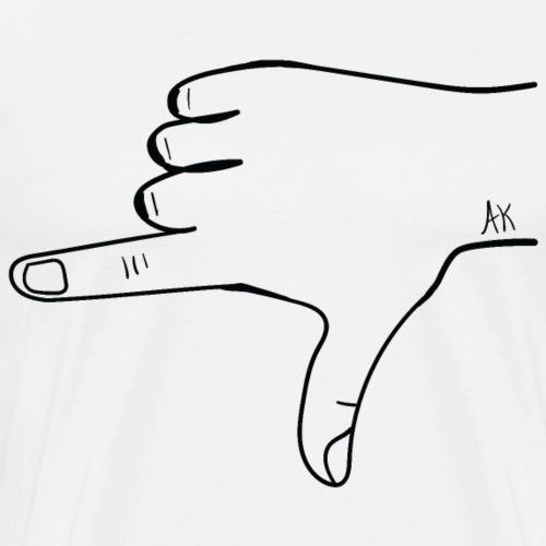 ALASKA HAND SYMBOL - Men's Premium T-Shirt