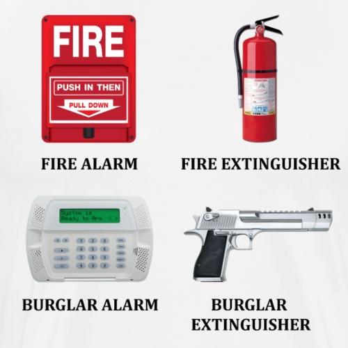 Burglar Extinguisher - Men's Premium T-Shirt