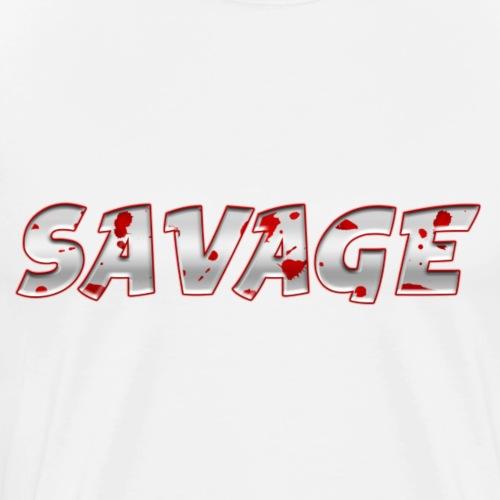 Savage Bloody - Men's Premium T-Shirt