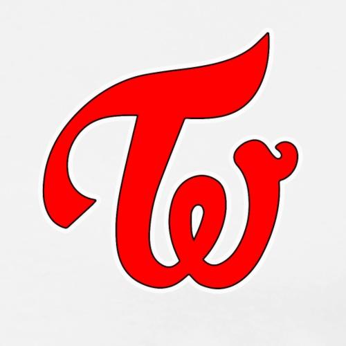 TWICE Logo - Men's Premium T-Shirt