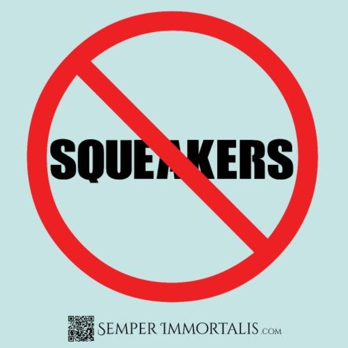 No Squeakers (black) - Men's Premium T-Shirt
