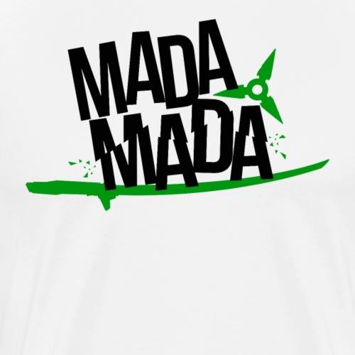 OVERWATCH GENJI VOICE LINE MADA MADA - Men's Premium T-Shirt