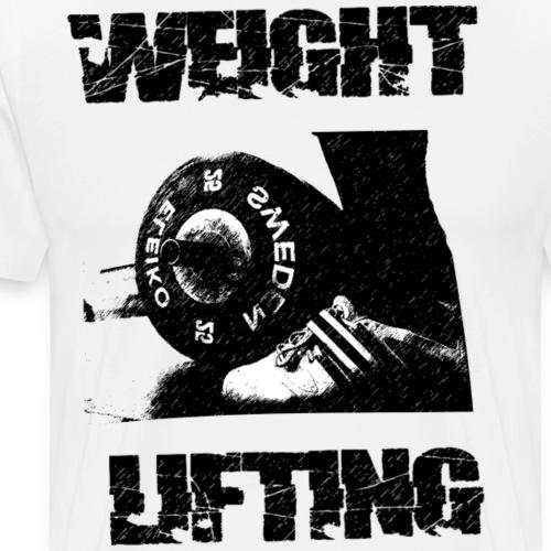 Weightlifting - Men's Premium T-Shirt