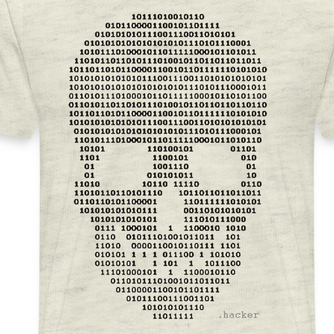 Hacker binary - Mens
