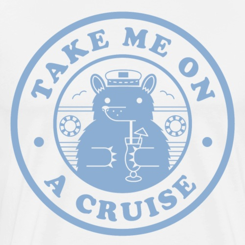 Bear Light Blue Cruise - Men's Premium T-Shirt