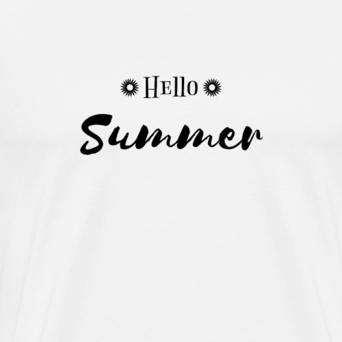 Hello Summer Sun Gift - Men's Premium T-Shirt