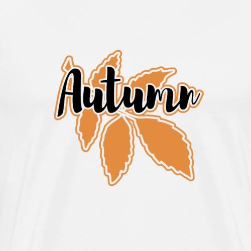Autumn Fall Leaves Gift - Men's Premium T-Shirt