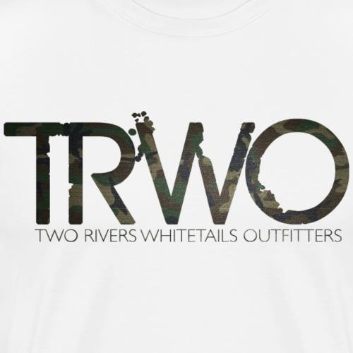 trwo camo - Men's Premium T-Shirt
