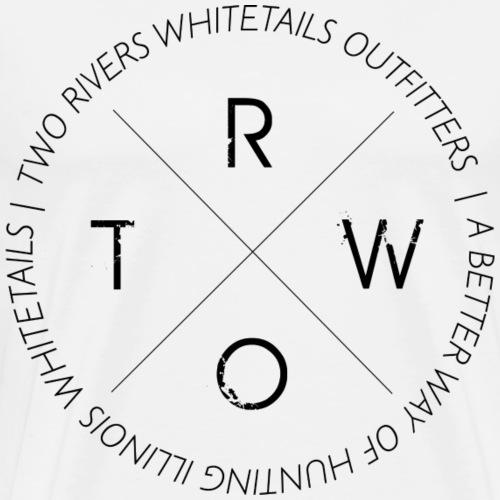 TRWO BLACK - Men's Premium T-Shirt