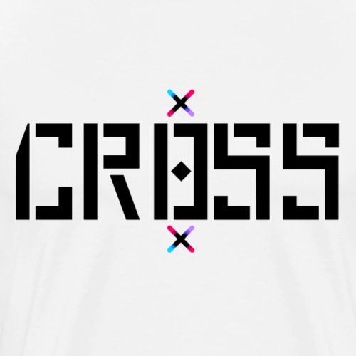 Classic Cr0ss logo - Men's Premium T-Shirt