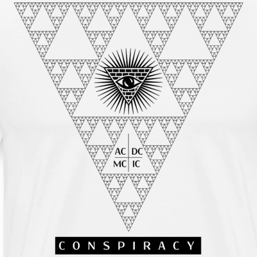 Conspiracy, who's watching? - Men's Premium T-Shirt