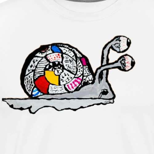 Magical Snail - Men's Premium T-Shirt