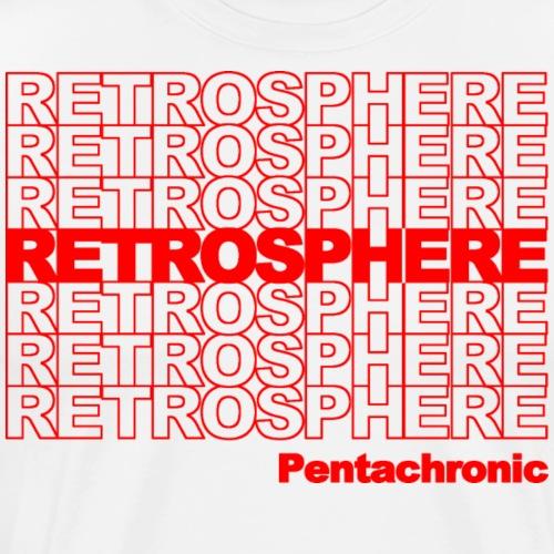 ThankYouRetrosphere - Men's Premium T-Shirt