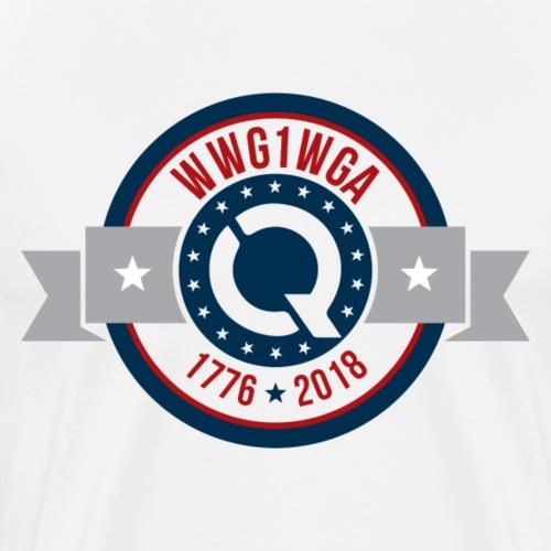 WWG1WGA [1776-2018] - Men's Premium T-Shirt