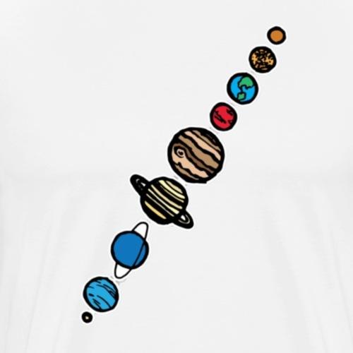 Planets - Men's Premium T-Shirt