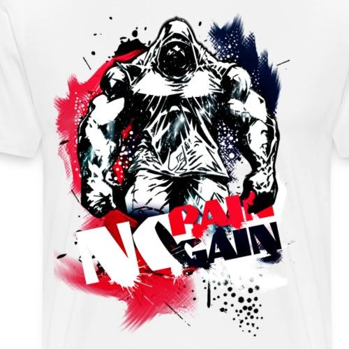 No pain no gain - Men's Premium T-Shirt