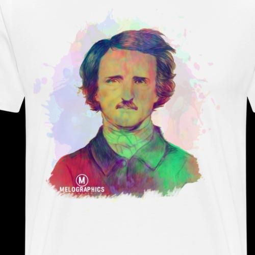 Poe-tic Portrait - Men's Premium T-Shirt