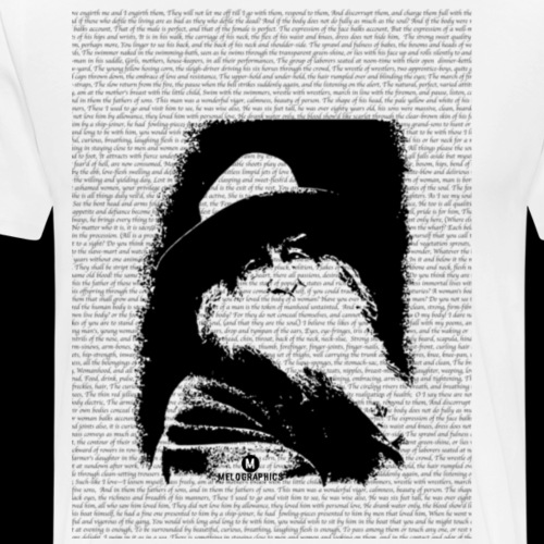 Whitman's Words - Men's Premium T-Shirt