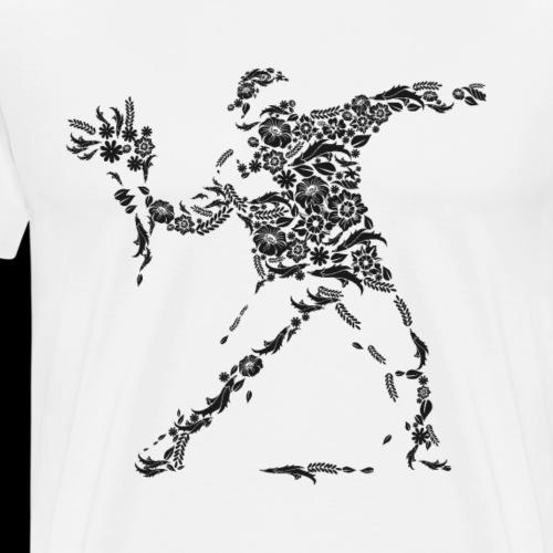 Flower Fight - Men's Premium T-Shirt