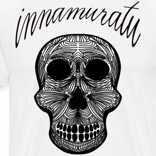 Innamuratu The Skull - Men's Premium T-Shirt
