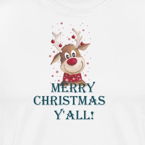MERRY CHRISTMAS Y'ALL! - Men's Premium T-Shirt