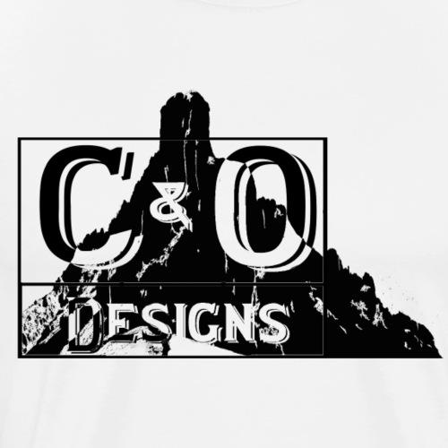 C&O mountain Logo - Men's Premium T-Shirt