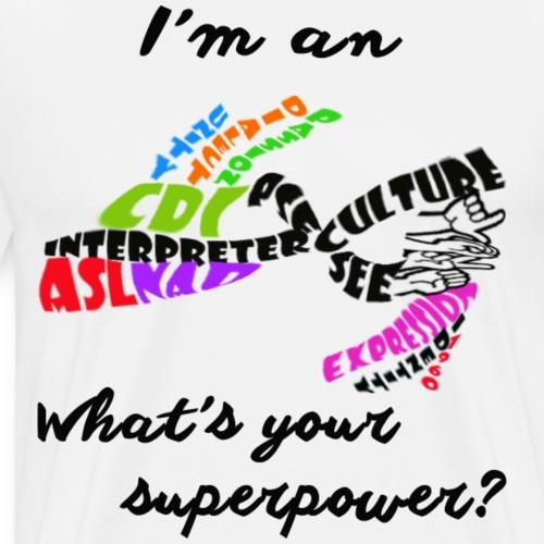 Interpreter - Men's Premium T-Shirt