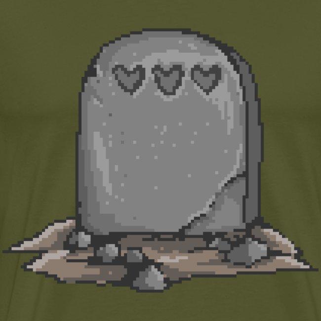 No Life Left | Funny Gamer Grave