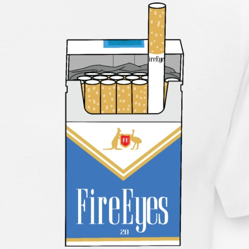 Fire Eye Blues - Men's Premium T-Shirt