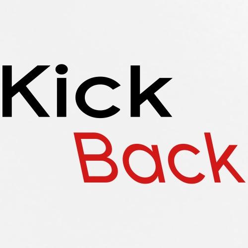 Kick Back - Red and Black - Men's Premium T-Shirt