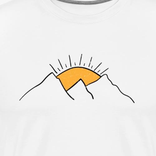 MOUNT SUNRISE - Men's Premium T-Shirt