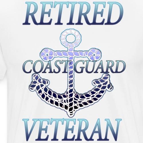 RETIRED COAST GUARD VETERAN RETIREMENT Shirt - Men's Premium T-Shirt