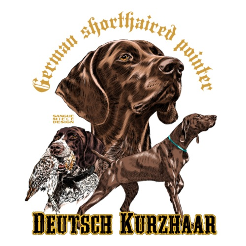 GSP deutsch Kurzhaar - Men's Premium T-Shirt