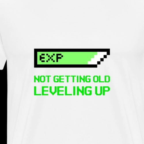 Not Getting Old - Leveling Up - Men's Premium T-Shirt