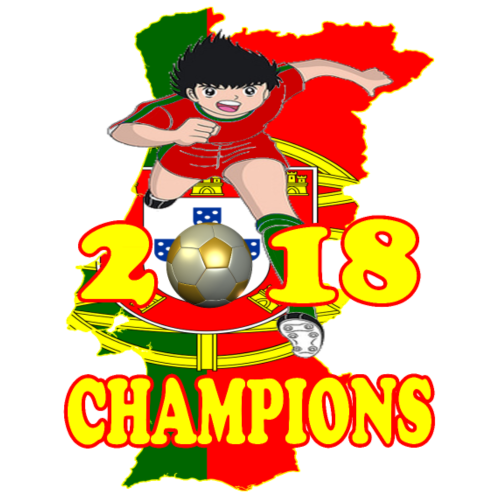 Portugal World Cup Champions 2018 - Men's Premium T-Shirt