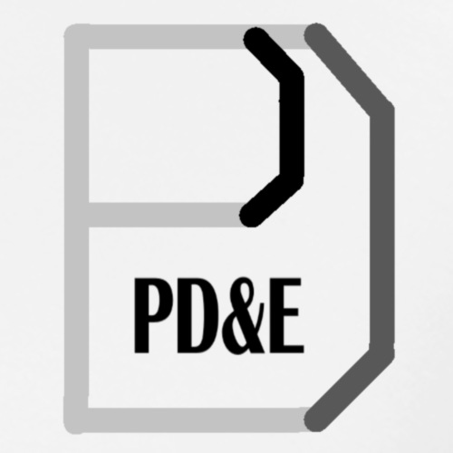 PD&E Logo - Men's Premium T-Shirt