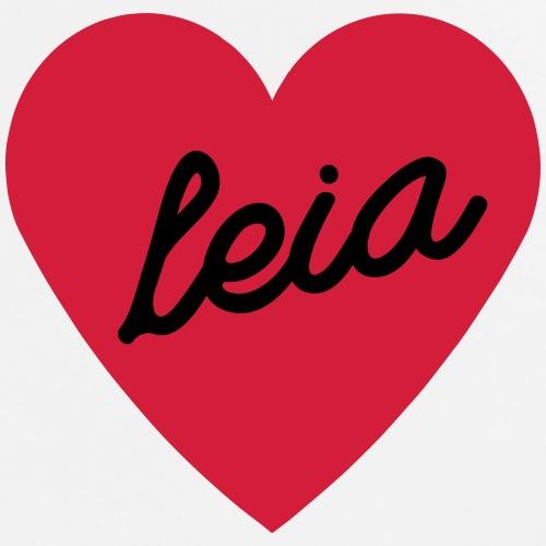 I love Leia - Men's Premium T-Shirt