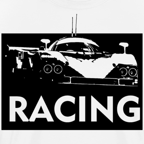 Racing car 787B - Men's Premium T-Shirt