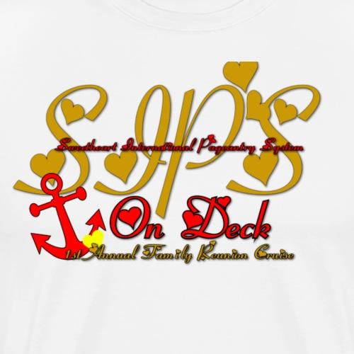 Sips Cruise - Men's Premium T-Shirt