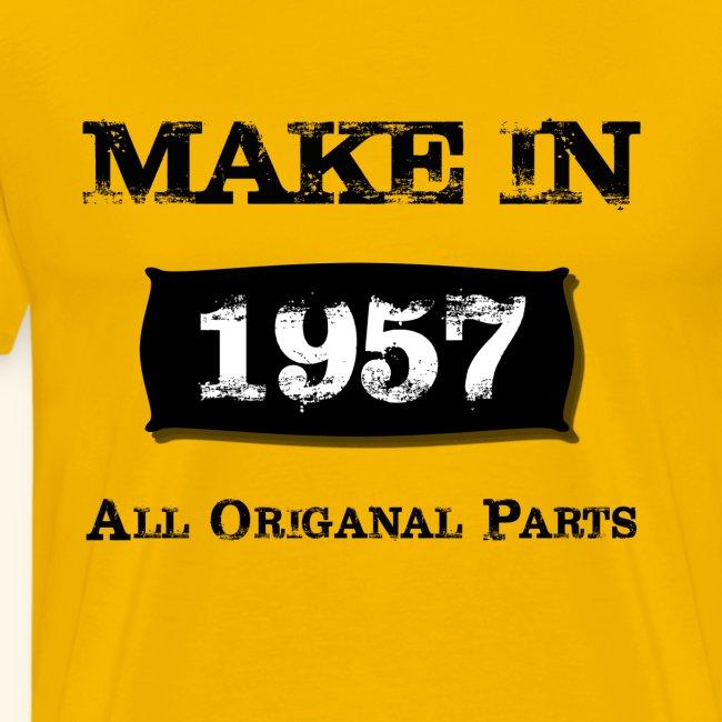Birthday Gifts Made 1957 All Original Parts
