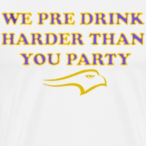 Laurier Pre Drink - Men's Premium T-Shirt